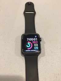 Space black aluminum case apple watch with black sports band Tucson, 85746
