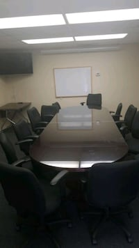 Office Table with 10 chairs