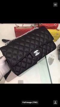 quilted black Chanel leather crossbody bag Hartford, 06112