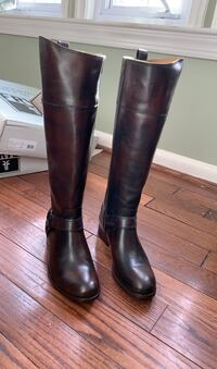 BRAND NEW* FRYE Leather Melissa Harness Tall Boots Arlington, 22207