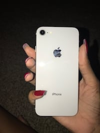 white iPhone 5 with red case Jacksonville, 32211