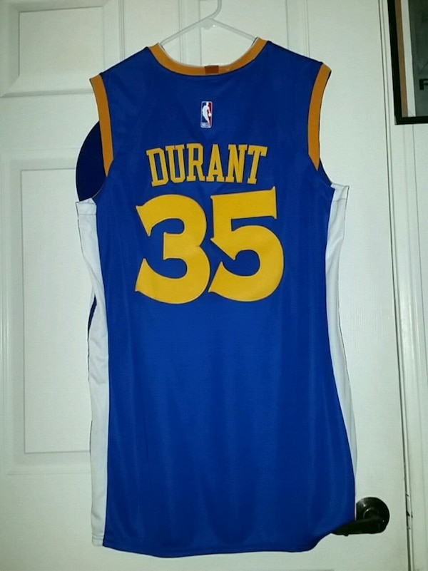 Golden State Warriors Kevin Durant jersey