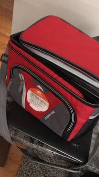 black and red duffel bag Chicago, 60626