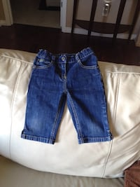Toddler girl denim Capri size 3X-4 Vaudreuil-Dorion, J7V