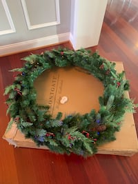 Christmas Decorations- Frontgate Wreaths and Garland Germantown, 20874