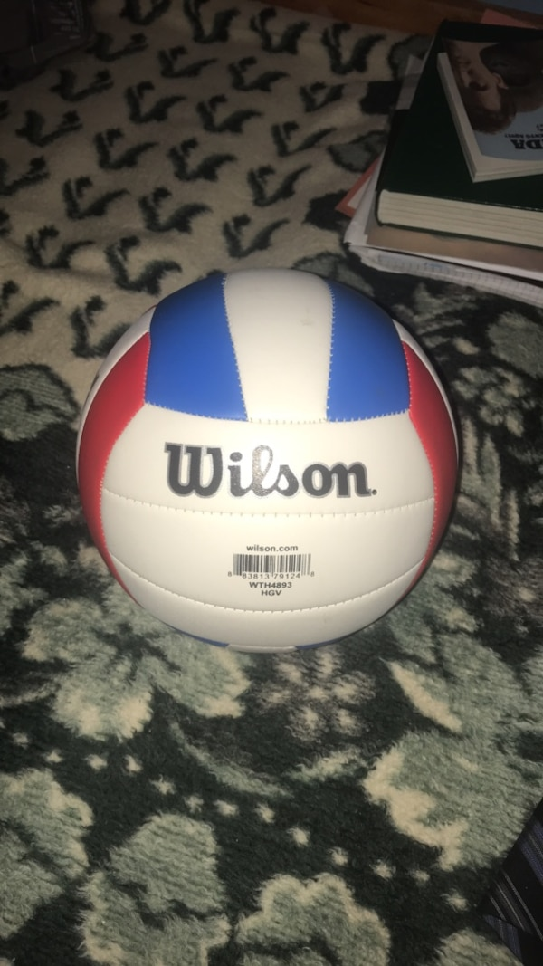 04ff71117 Used White and blue wilson volleyball for sale in San Francisco - letgo