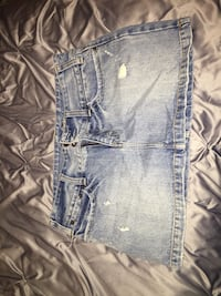 American Eagle Denim Skirt (Size: 6) Chantilly, 20152
