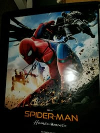 Spider Man Homecoming Signed by Tom Holland Reston, 20190