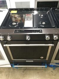 Black Stainless Gas Stoves