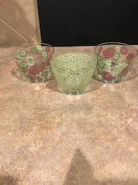 Set of Three 13oz Glass Bowls from France Cibolo, 78108