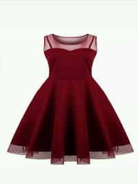 NEW WITH TAGS-Rockabilly Red Women's Dress Size XL St. Petersburg, 33715