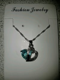 New Silver Plated Crystal necklace Ajax, L1S 4E5