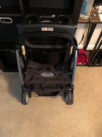 black and red Graco stroller Woodbridge