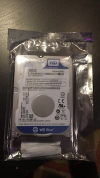 WESTERN DIGITAL 500gb mobile 7.0mm hard disk drive Brampton, L6Y 0N9