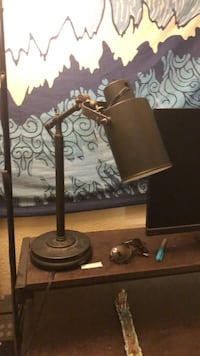 brown and white table lamp Rocklin, 95765