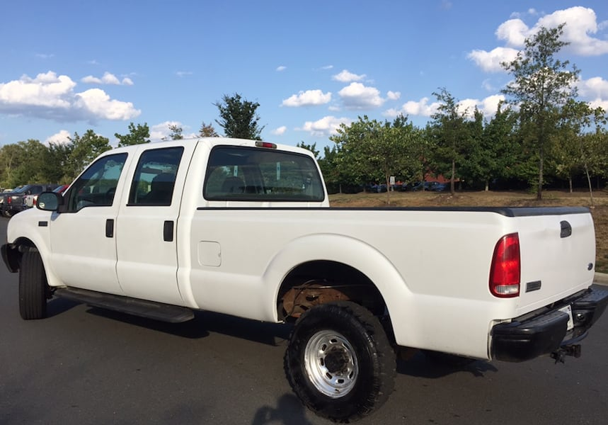 Ford F-350 4X4 PowerStroke Turbo Diesel Crew Cab Long Bed 3