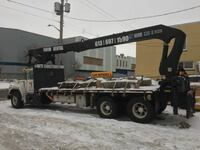 Boom truck and licensed operator available.  TORONTO