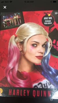 Harley Queen wig Laval, H7P