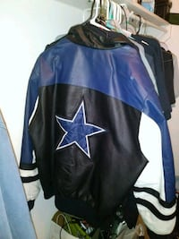 black and blue Dallas Cowboys jacket Euless