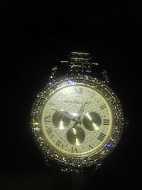 *Rare* Michael Kors Flooded Gold Watch Newport News, 23606