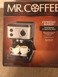 Mr. Coffee Expresso Maker Burtonsville