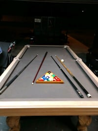 white and black pool table Spring Hill, 34609