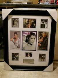 Star Wars Carrie Fisher framed People magazine Vaughan, L4H 2H2