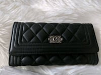 black chanel boy quilted wallet West Palm Beach, 33412