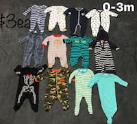 0-3m and 3m baby boy clothes Chattanooga, 37415