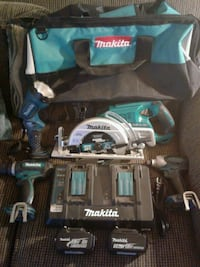 Makita power tool set Turlock, 95380