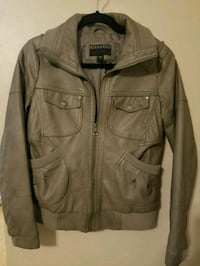 Bernardo Faux Leather Jacket  SMALL