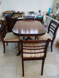 Antique wooden table with four chairs dining s Croydon, CR0 7AX