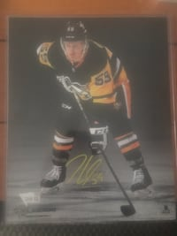 Jake Guentzel autographed photo Niagara Falls, L2H 1Z3