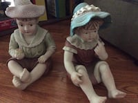 Antique piano babies — porcelain —beautifully painted — no chips or cracks Pasadena, 77505