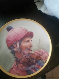 woman in pink dress ceramic decorative plate Redlands, 92373