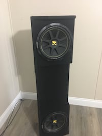 Kicker 12s in a box w/amp Lake Charles, 70611