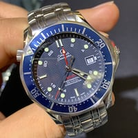 Omega Seamaster Bond 300M GMT Steel Watch 2535.80.00 no box or papers. Toronto, M5G