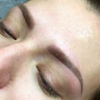 Ombre Brows Model Toronto