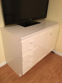 IKEA cabinet can be used as baby change table or for storage Markham, L3R 6M6