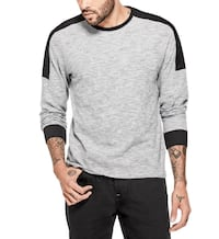 NWT Guess Archer Slub Long Sleeve Round Neck Men's Tee Medium  Vancouver, V6H 4H8