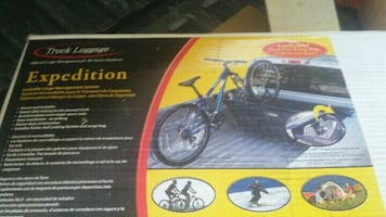 Bicycle rack for the back of your truck new in bicycling
