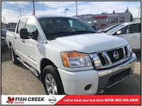 2013 Nissan Titan SV 4WD BACK UP CAMERA! BLUETOOTH! $500 GAS CARD IN Calgary