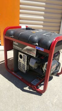 black and red portable generator Pleasanton, 94566