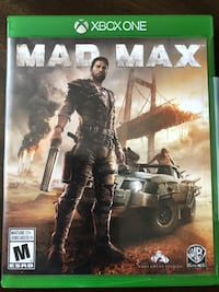 XBOX ONE.MAD MAX. Like New. Pick up Gastown please Vancouver, V6A 1G2