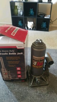 Hydraulic bottle jack. 4 ton heavy duty Gaithersburg, 20878