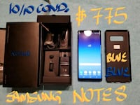 Amazing NEW BLUE SAMSUNG NOTE 8 64 GB *MINT10/10* Pointe-Claire, H9R 3A3