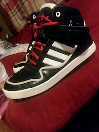 black-and-white Adidas high-top sneakers Middletown, 17057