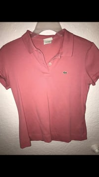 Lacoste Pink Button Up Lancaster, 93536