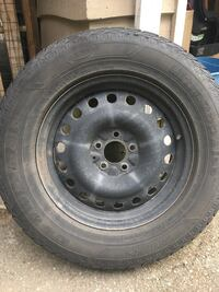 Winter tires with rims for Toyota Venza. Langley, V3A 4H9