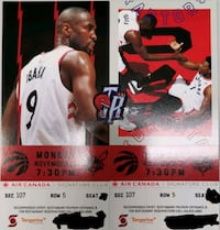 Raptors vs Hornets Nov 18 Markham